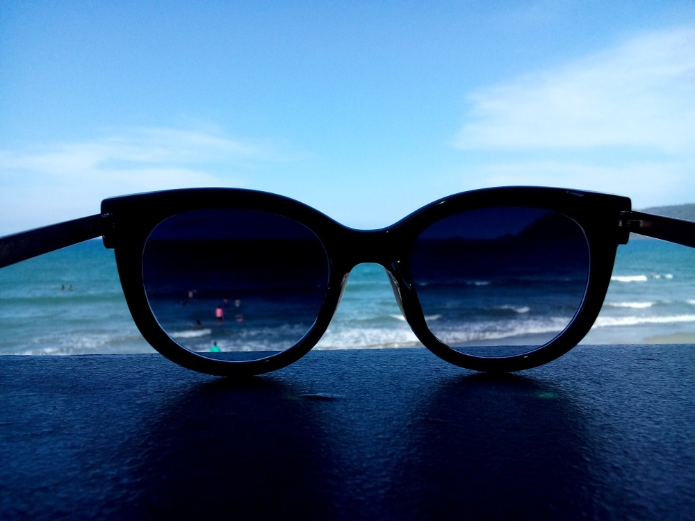 Sabang Beach through my Sunnies