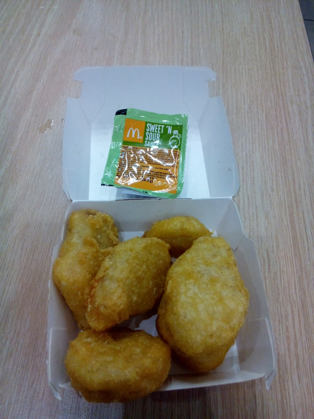 My boyfriend loves Mcdonald's thus we ate this as soon as we arrived.