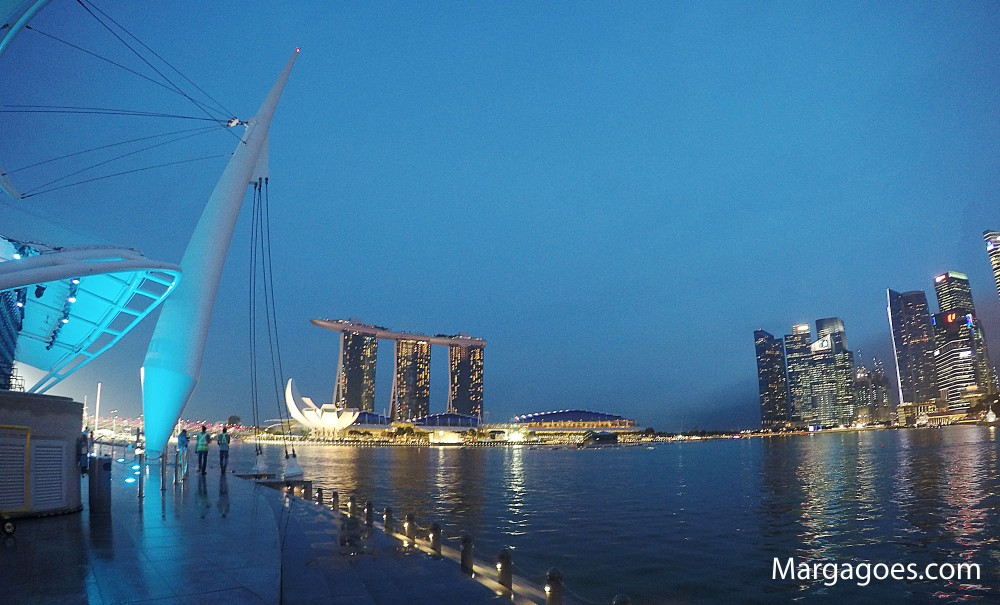 More shots of Marina Bay sands