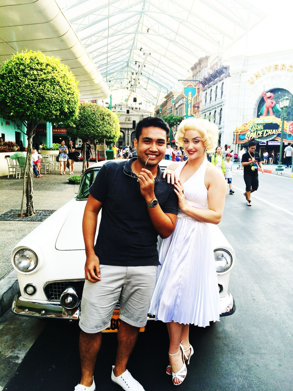 Marilyn flirting haha