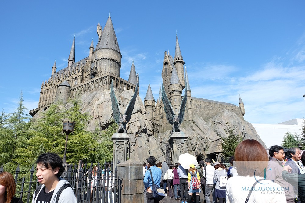 hogwarts in front