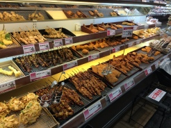 Yakitori heaven!!! I was so amazed when I saw this. You can even buy tempura