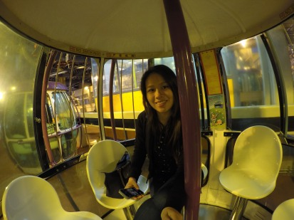 Inside the Cable Car