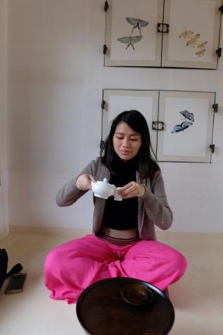 I had tea!