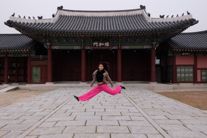 My mandatory jumping shot!